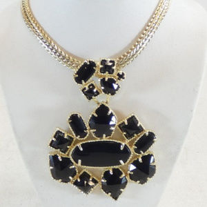 Kendra Scott Black Blakely Necklace